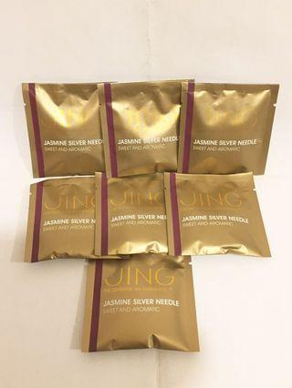 Jing Jasmine silver needle 茉莉白茶 x 7包