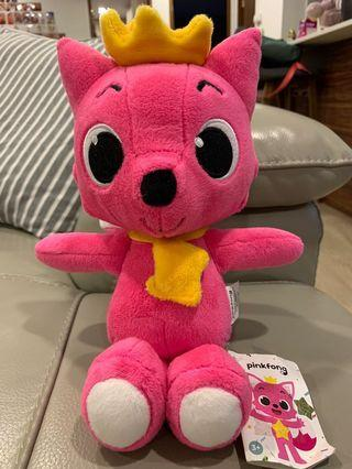 Pink Fong toy