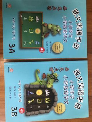 🚚 Primary 3 Chinese & higher Chinese word and phrase book 3A&3B 画龙点睛
