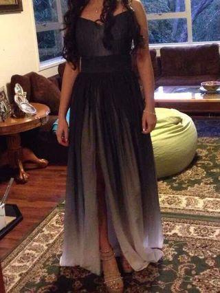 Ombré Ball Dress