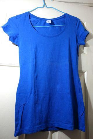 Now 藍色 女裝上衣