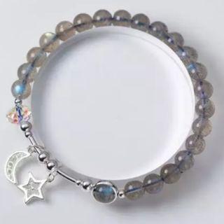 *MTO* 拉長石月光石同族純銀925手鏈 labradorite silver 925 bracelet #MTRtw #MTRst #MTRcwb #MTRtst #MTRssp #MTRpe #MTRtaiwai #MTRmk #MTRcentral #MTRtko #MTRkt #MTRadm