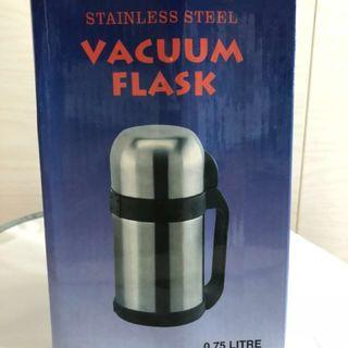 0.75l Stainless Steel Vacuum Flask with Handle & Sling