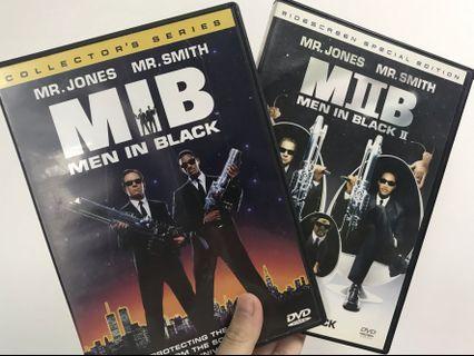 <DVD> MIB星際戰警 Men in Black 1-2