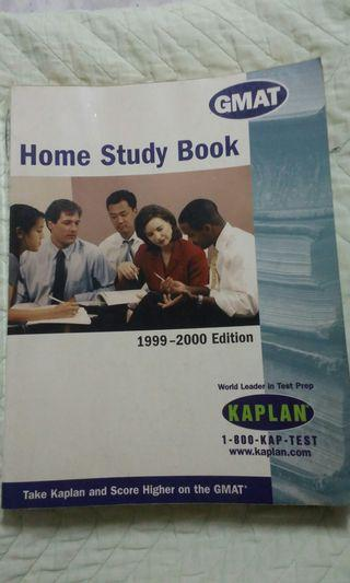 GMAT reviewer - Home Study Book KAPLAN