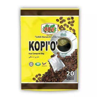 Oleh oleh malaysia - Kopi o kosong '888' 1 bag