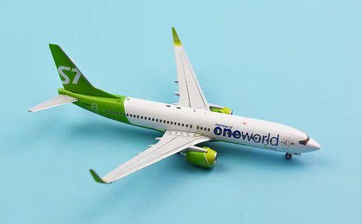1/400 JC Wings Siberia Airlines B737-800 VQ-BKW one world
