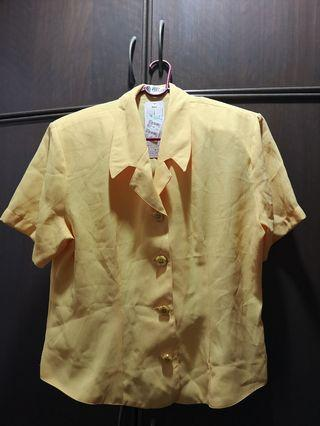 Elegance Yellow blouse
