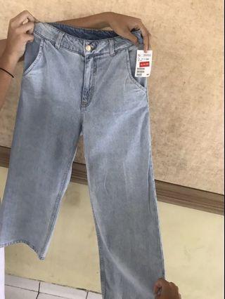 Jeans kulot h&m wanita