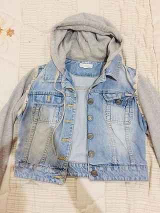 Ripcurl hooded denim jacket