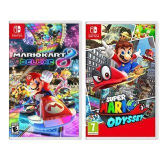 Switch Mario Odyssey Mario Kart 孖田 奧德賽
