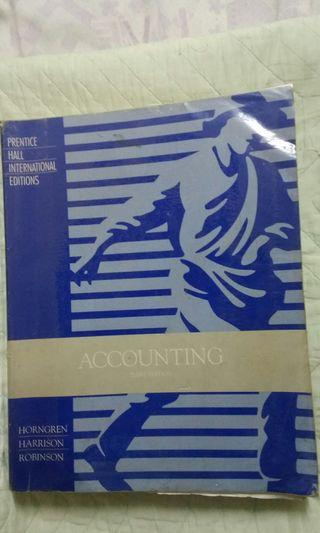 Accounting Book - Prentice Hall Third Edition