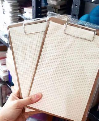Clipboard with Grid Pad Paper