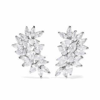 BRAND NEW CZ BY KENNETH JAY LANE EARRINGS