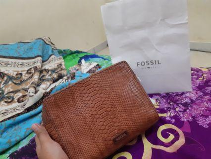 NEW FOSSIL SYDNEY CROSSBODY BAKED CLAY