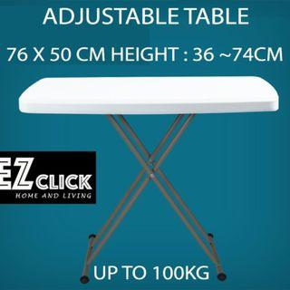 Many Color Portable / Foldable / Adjustable Heavy duty table