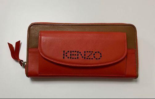 全新正品 展示品出售 未使用 kenzo 長夾 皮夾 購於日本