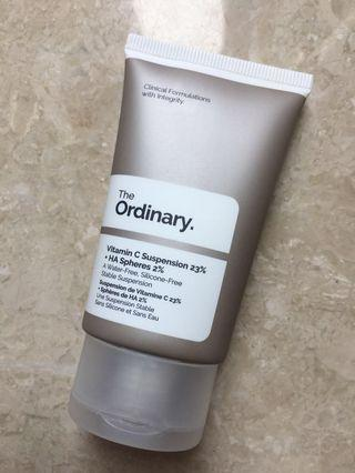 The Ordinary Vitamin C Suspension 23% + HA Sphere 2%