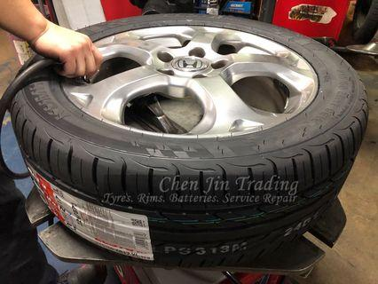 215/45/17 Kumho Ecsta PS31 tyre, promotion tyre, wholesale price, while stock last only