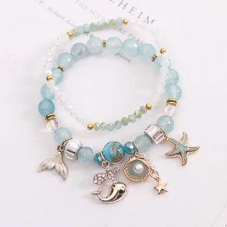 🚚 [2 For $20!] BN Nice Whale & Mermaid Bracelets