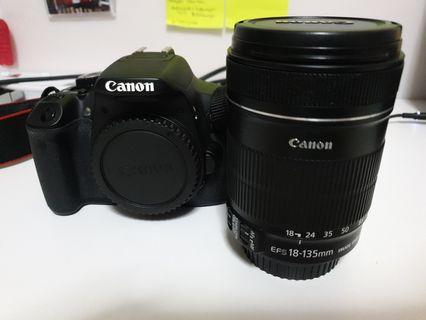 Canon EOS 650D (Body Only) + free EFS 18-135mm lens