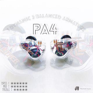 入毒三分 PA4 四單元圈鐵混合耳機
