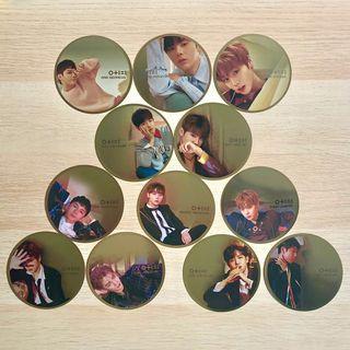 OFFICIAL Wanna One WannaOne W1 Wanna-One Mirror Card Mirror Cards IPU I.P.U IPY I Promise You Day Night