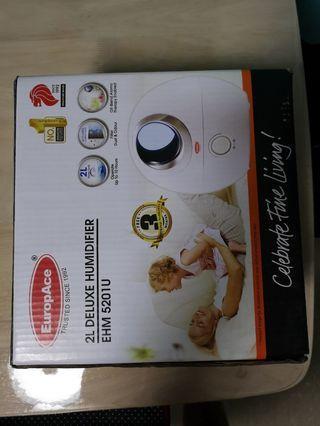 Europace EHM 5201U 2-IN-1 Deluxe Cool Mist UltraSonic Aroma Humidifier