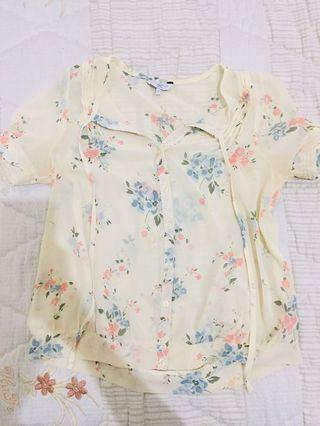 New look floral top