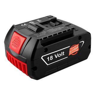Hand Power Drill Batteries For BOSCH 18V 17618 BAT609 BAT618 5.0Ah Battery