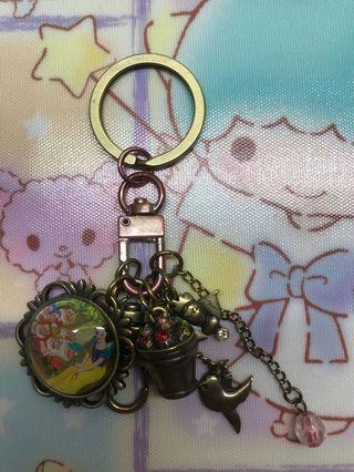 HK disneyland白雪公主鎖匙扣