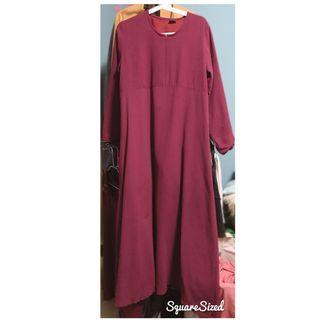 🚚 BF friendly Maroon Long Dress