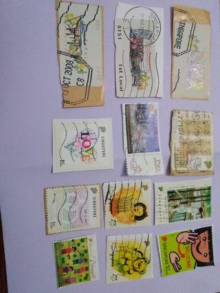 S'pore stamps-1st local