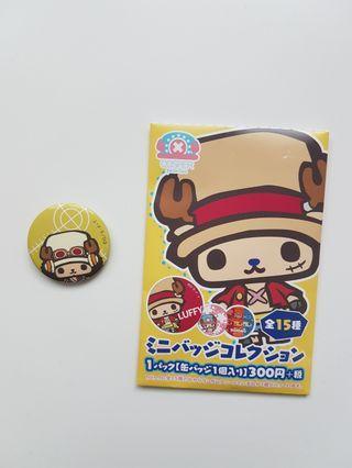 One Piece Chopper Cosper Pin Badge