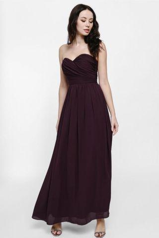 🚚 Love Bonito Bavryn Bustier Maxi Dress