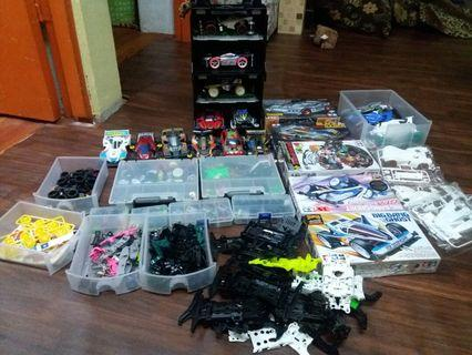 Tamiya all complete set with box tool and part