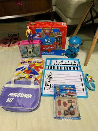 🚚 Jumbo puzzle / Yamaha sets for beginners and toys