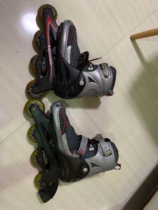 🚚 Adult Adjustable Rollerblades - 38 ~ 41