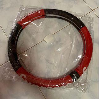 Brand new in bag supreme leather car steering wheel cover protector