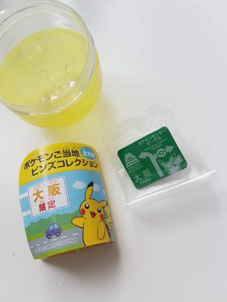 Pokemon Osaka Pin Badge