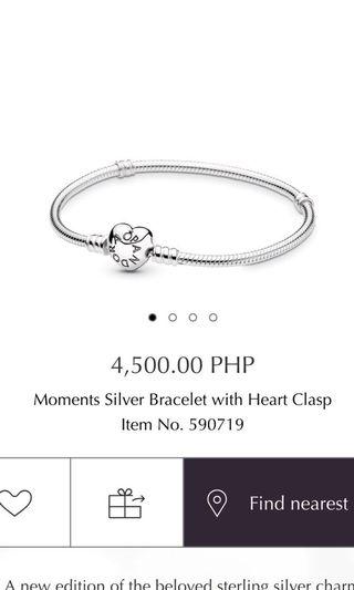 6c7df76e6 pandora heart clasp bracelet | Women's Fashion | Carousell Philippines