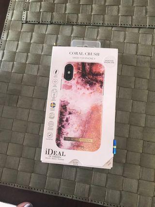 Ideal of Sweden iPhone XS cover + screen protector