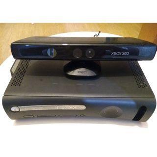 Xbox 360 + Kinect + CD games + Joystick