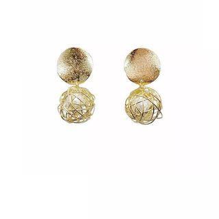 925純銀復古手作耳環 handmade silver earrings