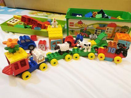 Duplo Lego 2 set 連duplo box