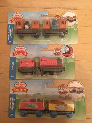 3 set Thomas Wood Train