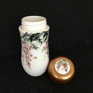 🚚 陶瓷 水壺 紫藤手繪 水杯