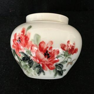 🚚 陶瓷 茶葉罐 儲藏罐 居家擺飾 糖罐