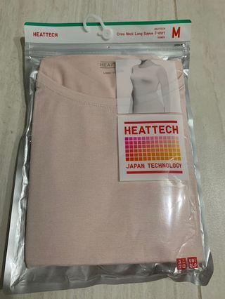 Brand new Uniqlo HEATTECH Crew Neck Long Sleeve T-shirt