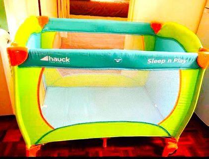 Hauck Sleep & Play Size 120x60 cm. by ToysRus 90%New Use a little